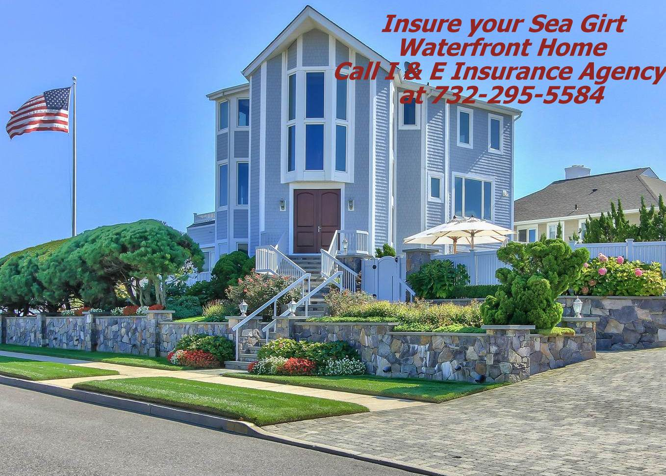 Sea Girt NJ 08750 Homeowners Insurance Affluent High Value Home Waterfront Property